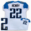 Derrick Henry Autographed Signed Jersey - White