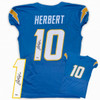 Justin Herbert Autographed Signed Jersey - Game Cut Style