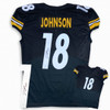 Diontae Johnson Autographed Signed Jersey - Black - Game Cut Style