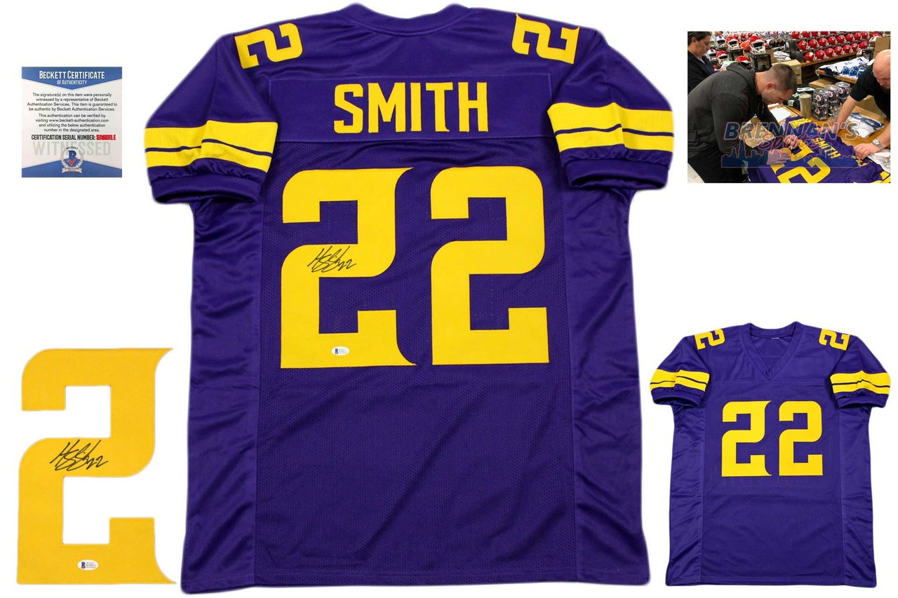 innovative design 295ef 20093 Harrison Smith Autographed Jersey - Beckett Authentic - Color Rush