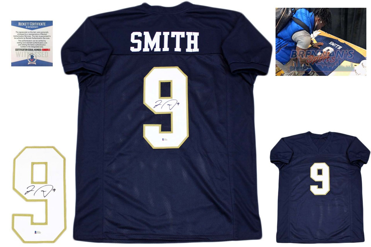Jaylon Smith Autographed Signed Jersey - College - Beckett Authentic ... bb5c1d79e