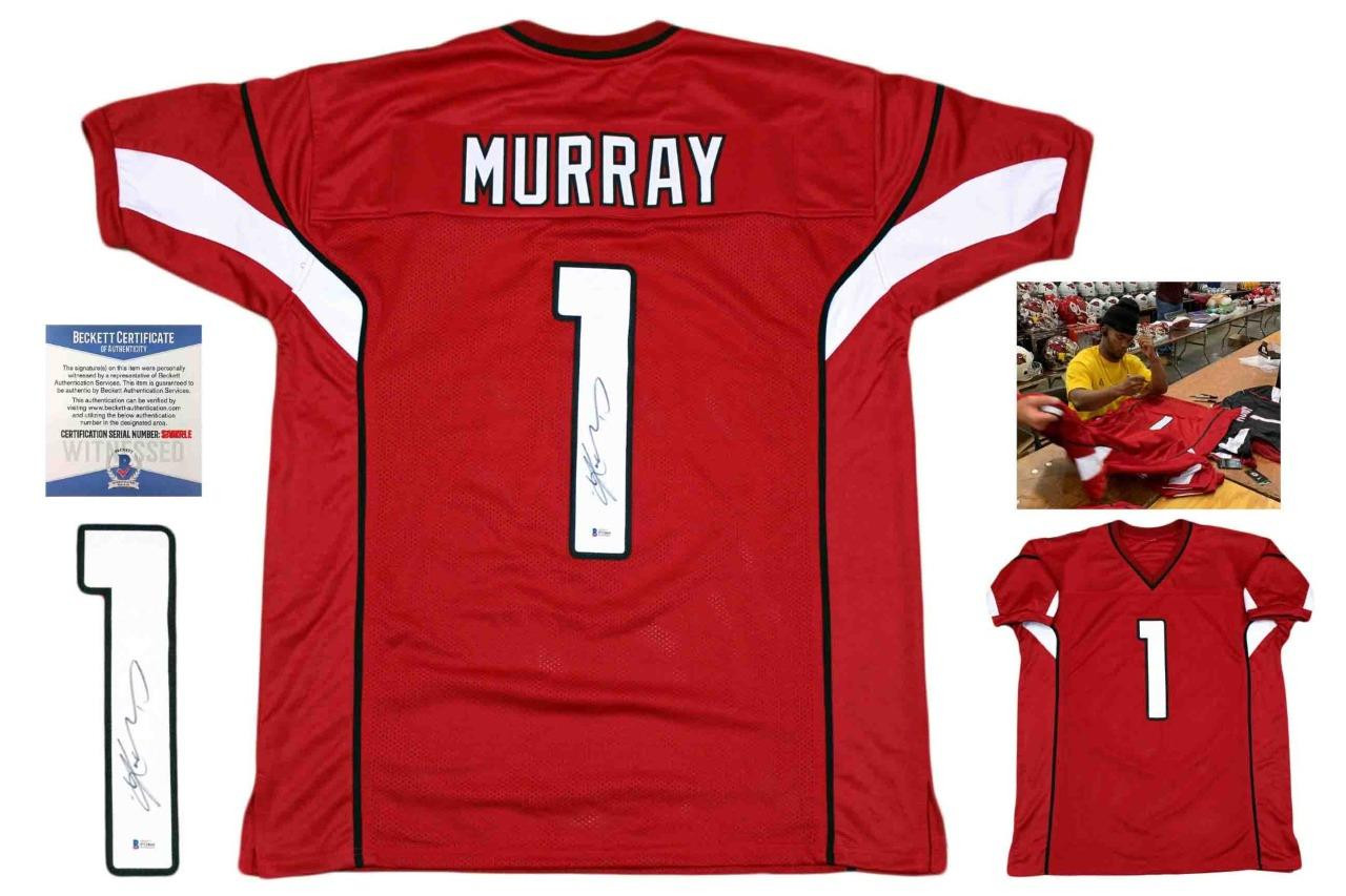premium selection 3d390 4004e Kyler Murray Autographed Signed Jersey - Red- Beckett Authentic