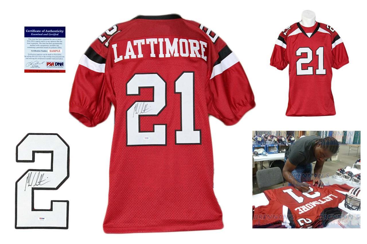 buy popular ae56a e2ffd Marcus Lattimore Autographed Signed South Carolina Gamecocks Jersey PSA DNA