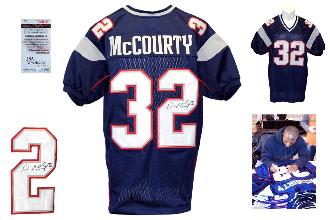 premium selection 3e85d 1c71e Devin McCourty Autographed Signed Jersey - Navy - JSA Witnessed
