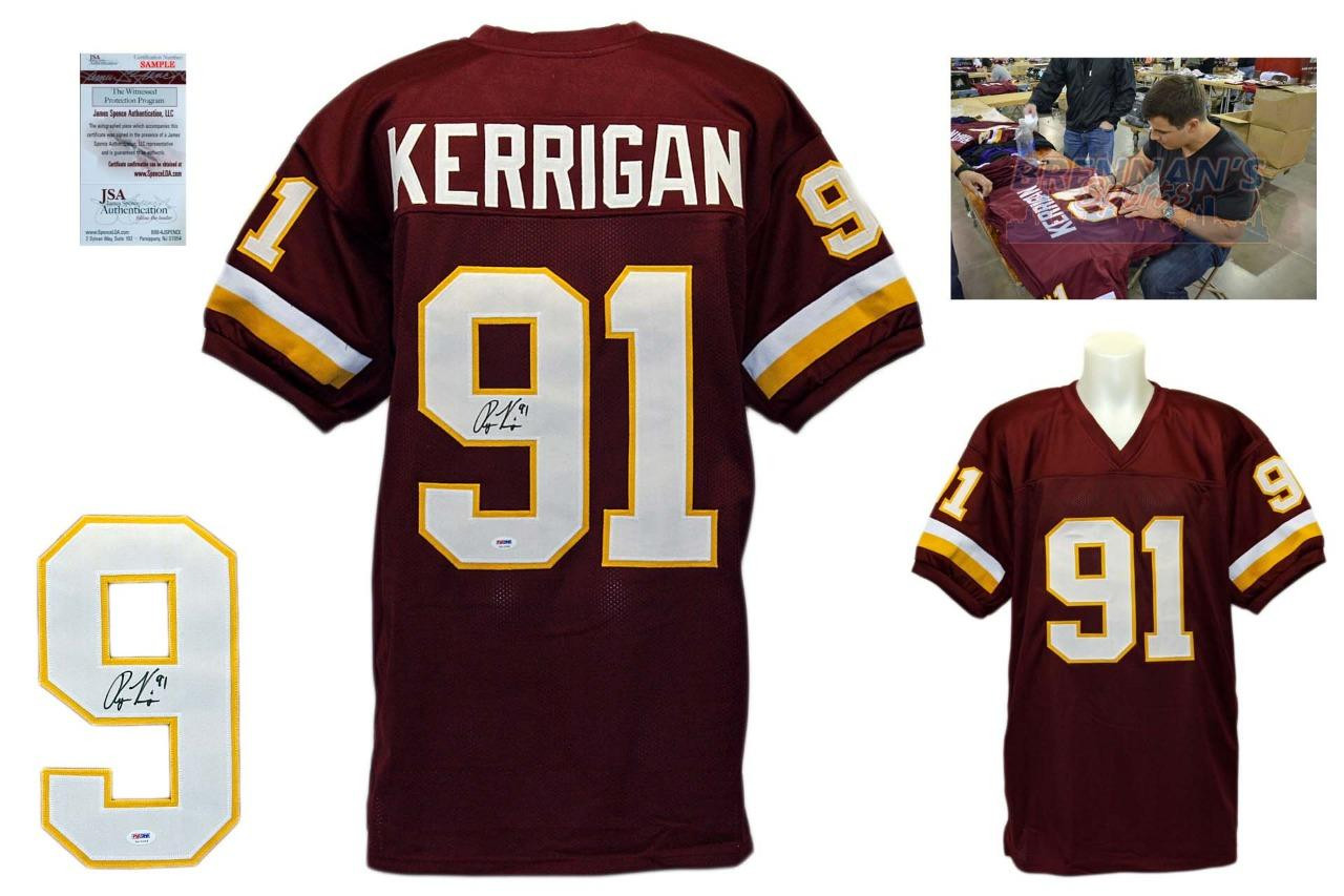 low priced 44f9f ce615 Ryan Kerrigan Autographed Signed Jersey - JSA Witnessed - Burgundy