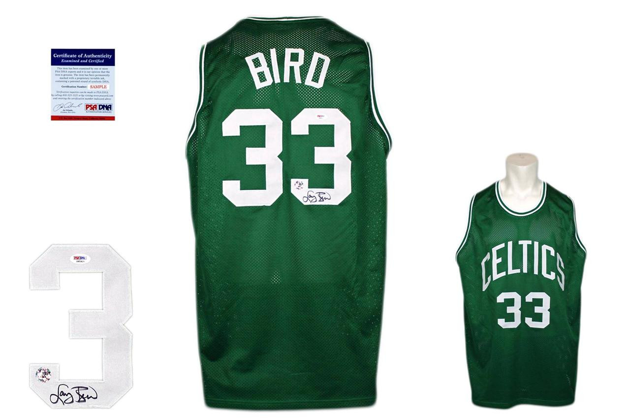 Larry Bird Autographed Signed Jersey