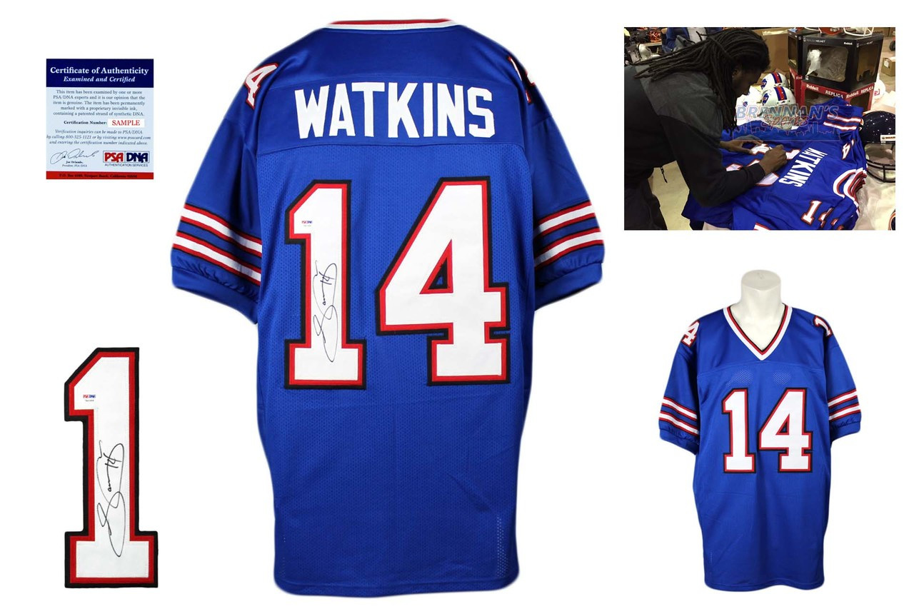 buy online 94a14 6d369 Sammy Watkins Signed Jersey - PSA DNA - Buffalo Bills Autographed - Royal
