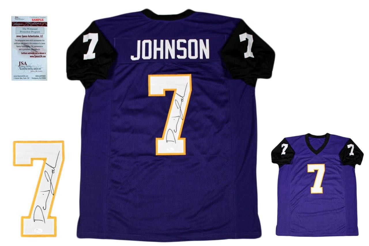 new arrival 78f2f 98be9 David Johnson Autographed Signed Jersey - JSA Witnessed - College