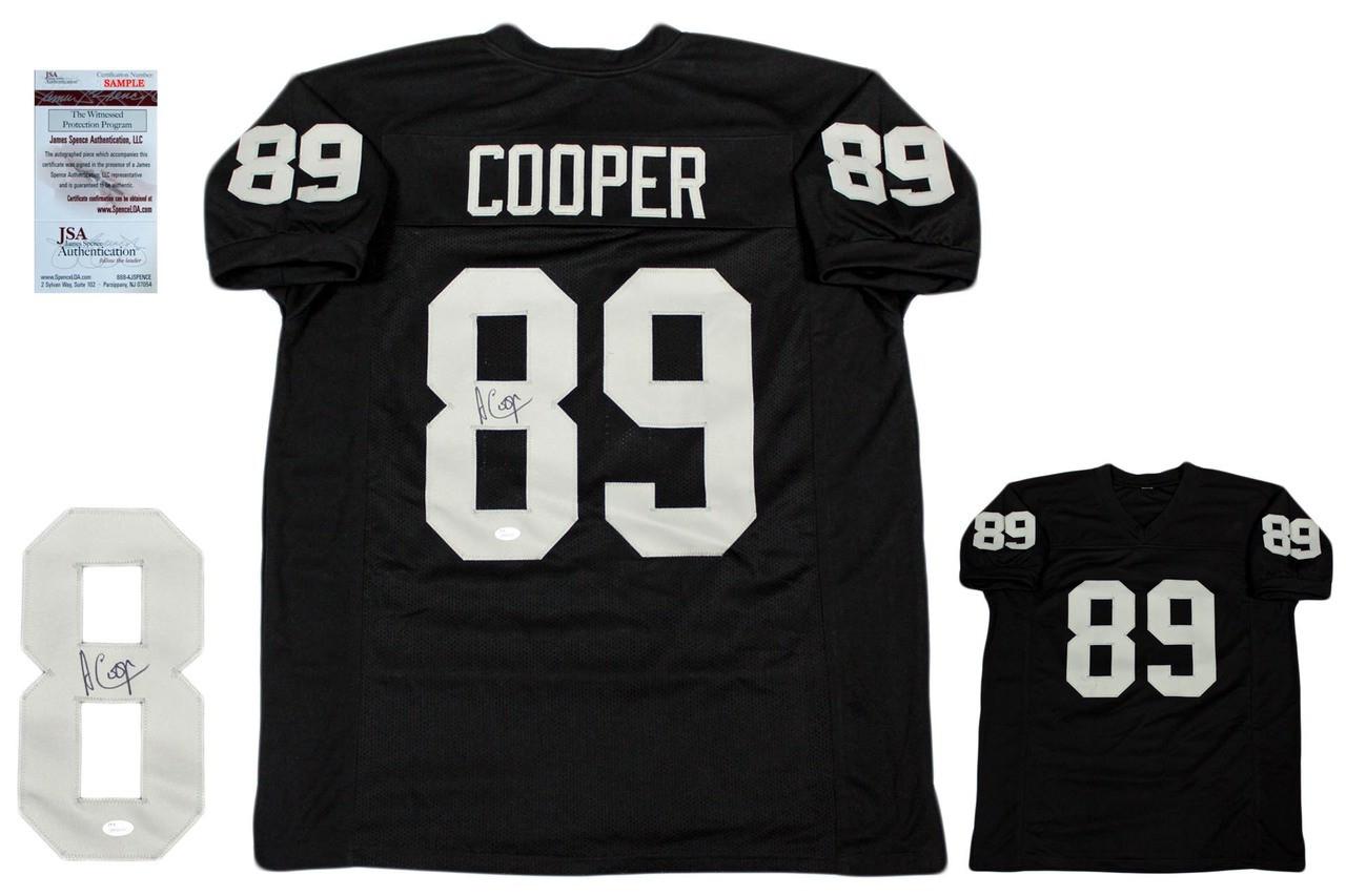 info for 9fbb3 5712d Amari Cooper Autographed Signed Jersey - JSA Witnessed - Black