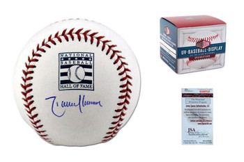 Randy Johnson Autographed Hall of Fame Baseball
