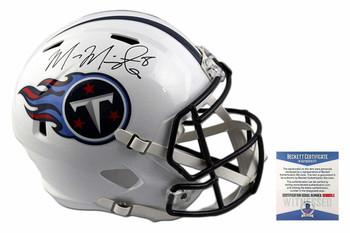 Marcus Mariota Autographed Signed Tennessee Titans Full Size Speed Helmet