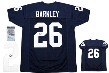 Saquon Barkley Autographed Signed Jersey - JSA Witnessed Authentic