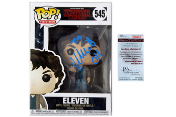 Millie Bobby Brown Autographed Funko Pop Eleven JSA Witnessed - Stranger Things