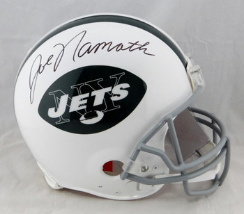 Joe Namath Autographed New York Jets Authentic Pro Line Helmet - Beckett