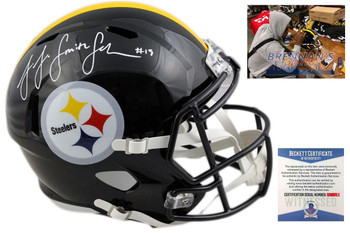JuJu Smith-Schuster Autographed Helmet - Pittsburgh Steelers Signed - Beckett