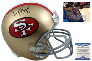 Ronnie Lott Autographed Helmet - San Francisco 49ers Signed - Beckett