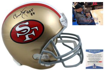 Ronnie Lott Autographed Helmet - San Francisco 49ers Signed - Beckett