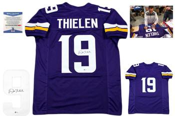 Adam Thielen Autographed Jersey - Purple