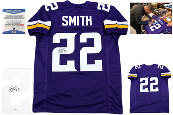 Harrison Smith Signed Jersey - Purple