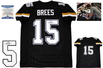 Drew Brees Autographed Signed Jersey - purdue