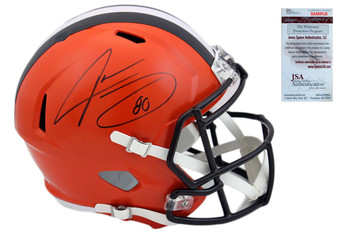 Jarvis Landry Autographed SIGNED Cleveland Browns Speed Helmet