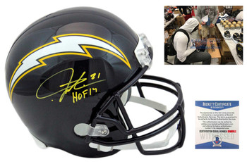Ladainian Tomlinson Autographed Full Size Helmet