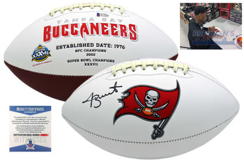 Jameis Winston Signed Buccaneers Football