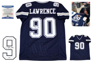 Demarcus Lawrence Autographed Signed Jersey - Navy