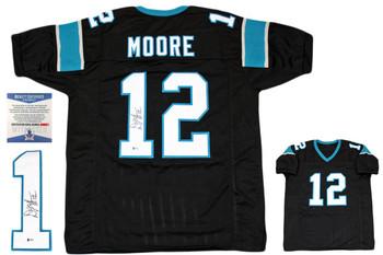 Dj Moore Autographed Signed Jersey - Black