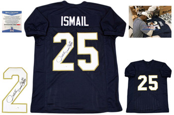 """Raghib """"Rocket"""" Ismail Autographed Signed Jersey"""