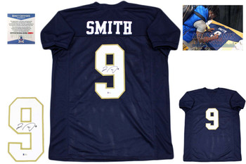 Jaylon Smith Autographed Signed Jersey - College