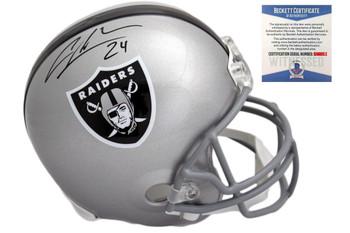 Charles Woodson Autographed SIGNED Oakland Raiders Helmet