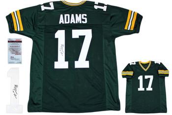 Davante Adams Autographed Signed Jersey - Green