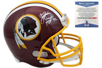 John Riggins Autographed Signed Washington Redskins Helmet