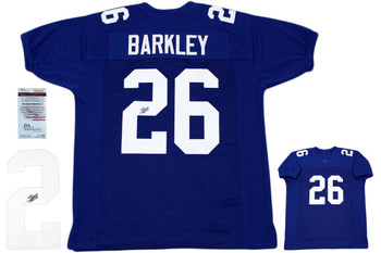 Saquon Barkley Autographed Signed Jersey