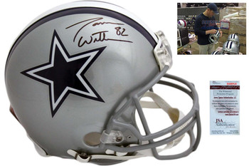 Jason Witten Autographed Dallas Cowboys Full Size Authentic Helmet - JSA