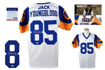 Jack Youngblood Autographed Signed Jersey - White - PSA DNA Authentic