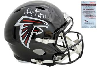 Julio Jones Autographed Signed Atlanta Falcons Speed Helmet - JSA