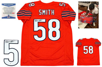Roquan Smith Autographed Signed Jersey - Orange - Beckett Authentic