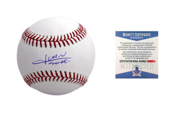 Juan Soto Autographed MLB Baseball - Beckett Authentic