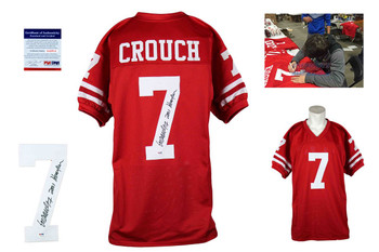 Eric Crouch Autographed Signed Jersey - Red - PSA DNA