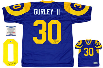 Todd Gurley Autographed Los Angeles Rams Pro Line Jersey