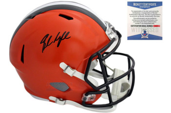 Baker Mayfield Autographed Signed Cleveland Browns Speed Helme