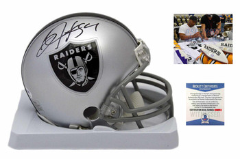 Oakland Raiders Bo Jackson Autographed Signed Mini-Helmet