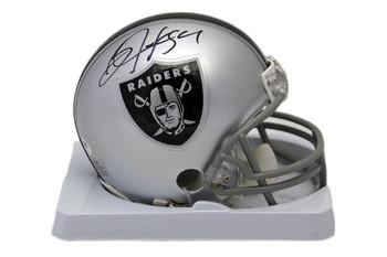 Oakland Raiders Bo Jackson Autographed Signed Mini-Helmet - Beckett Authentic