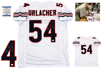 Brian Urlacher Autographed Jersey - White - Beckett