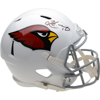 Cardinals Kyler Murray Autographed Speed Helmet - Beckett Authentic
