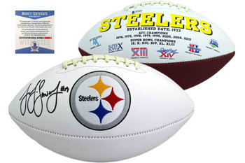 JuJu Smith-Schuster Signed Steelers Football