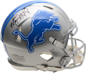 Matt Stafford Autographed Signed Authentic Speed Helmet