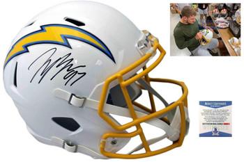 Joey Bosa Autographed Signed Speed Helmet